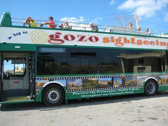 The Phoenicia Malta : Gozo Sightseeing Bus