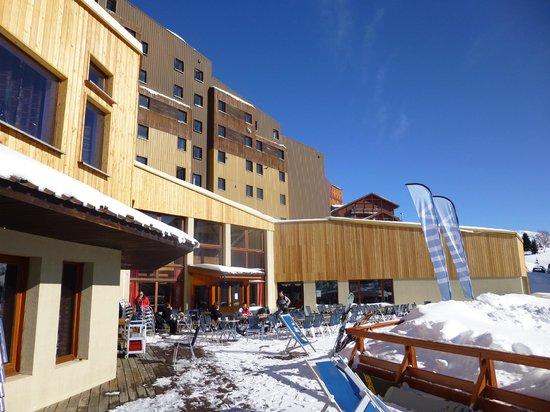 Hotel Club MMV Les Bergers : Externals