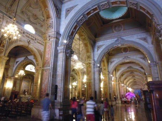 Cathédrale métropolitaine de Santiago du Chili : inside