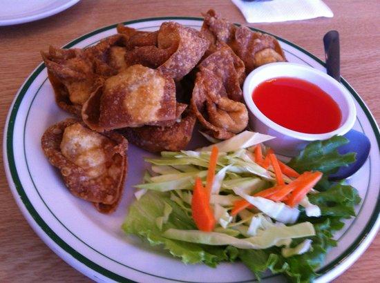 Siamese Kitchen: Fried Won Tons