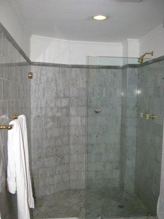 Hotel DeVille: Die Dusche