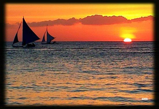 La Oviedo Villa Resort: Glorious sunset