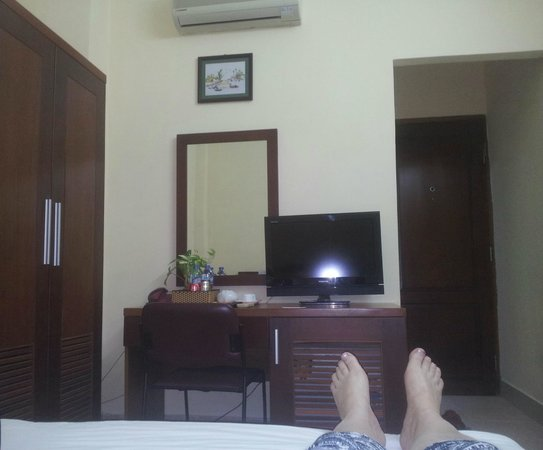 Tay Ho Hotel : In the room