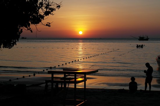 Le Vimarn Cottages & Spa: Every night a beautiful sunset