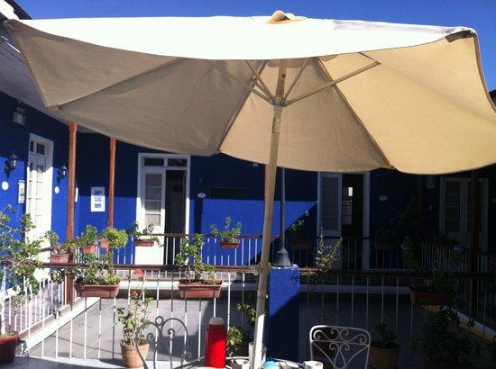 La Casona De Jerusalen Traveler's Hostel : hostel common area