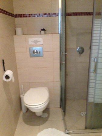 Central Hotel: Bathroom