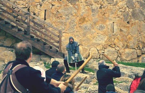 Visitas teatralizadas en el Castillo de Consuegra