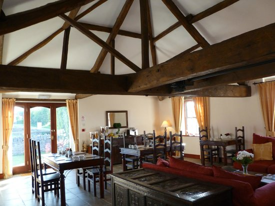 The Ginney Country Guest House & Holiday Cottages : B&B - Breakfast Room