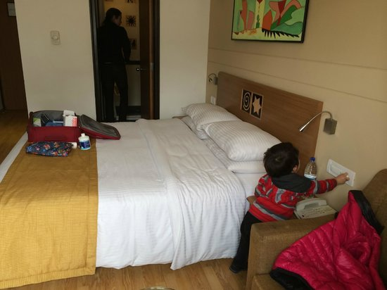 Lemon Tree Hotel, Chandigarh: Our Room