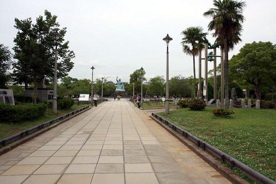 Nagasaki Peace Park: 平和公園です