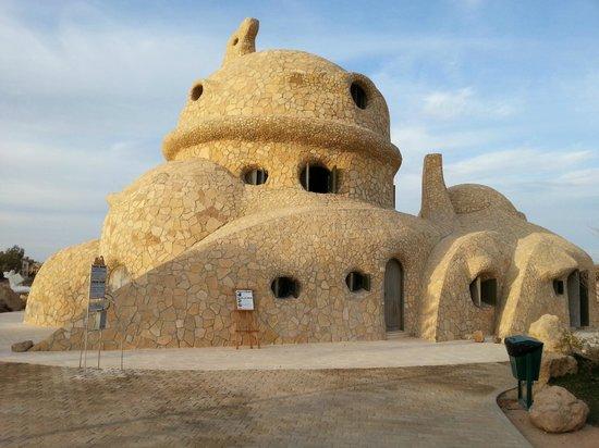 Mosaique Hotel : Schildkrötenhaus mitten in einem Golfplatz