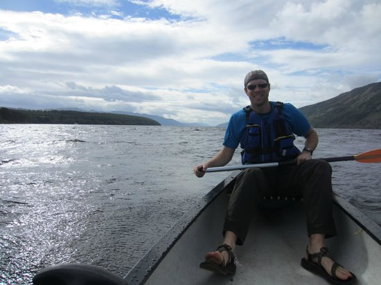 Kushi Adventures: A view south through Loch Ness
