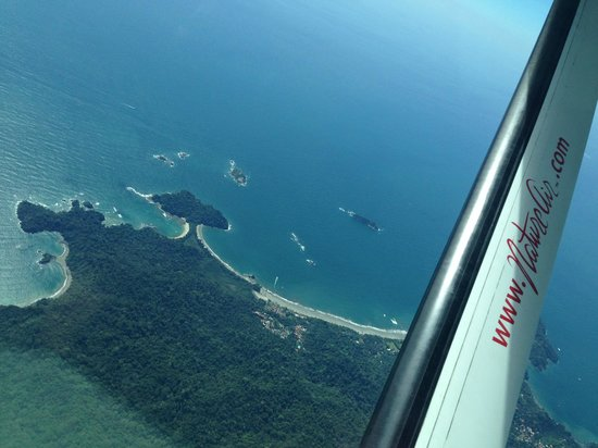 Finca Maresia: Flight to Drake- The View