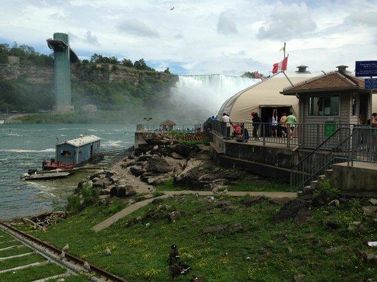 Niagara Falls: cascate