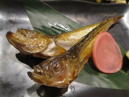 Akita Dining Namahage Ginza: ハタハタ
