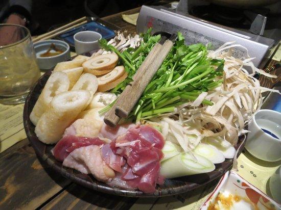 Akita Dining Namahage Ginza: きりたんぽ鍋