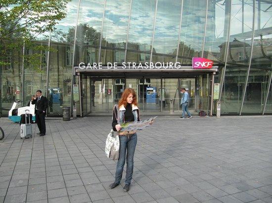 Gare de Strasbourg: вокзал