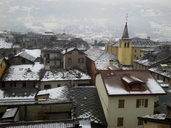 HB Aosta Hotel: vista dalla 530