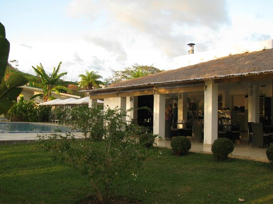 Hotel Bocas del Mar: Restaurant bei angenehm warmer Meeresbrise