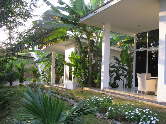 Hotel Bocas del Mar: Bungalow am Meer