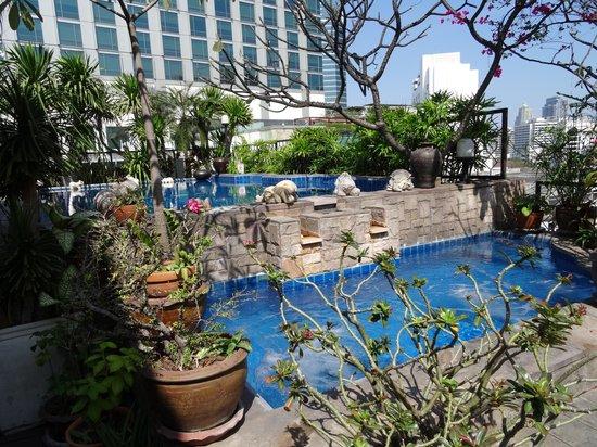 The Siam Heritage: Dachterrasse mit Pool und Jacuzzi