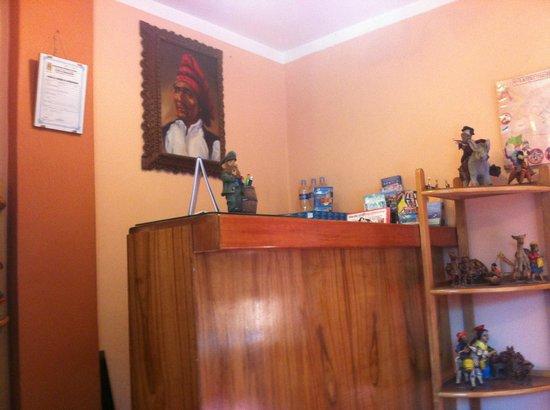 Totorani Inn: reception