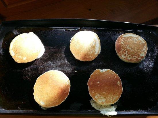 Moonlight Bay Hostel: Amerikaanse pannenkoeken als ontbijt