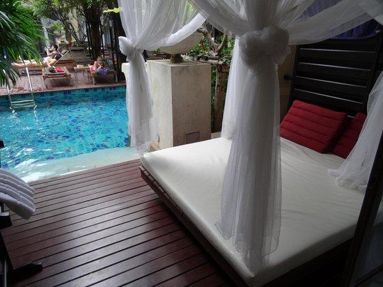 Burasari Resort : Blick von der Zimmerveranda