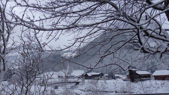 Hotel Krone : une journée de neige promenade