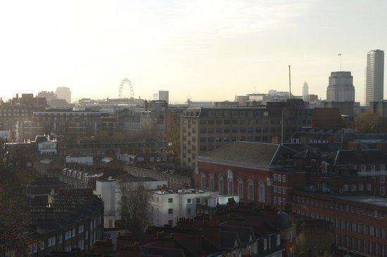 Pullman London St Pancras Hotel: vue de notre chambre
