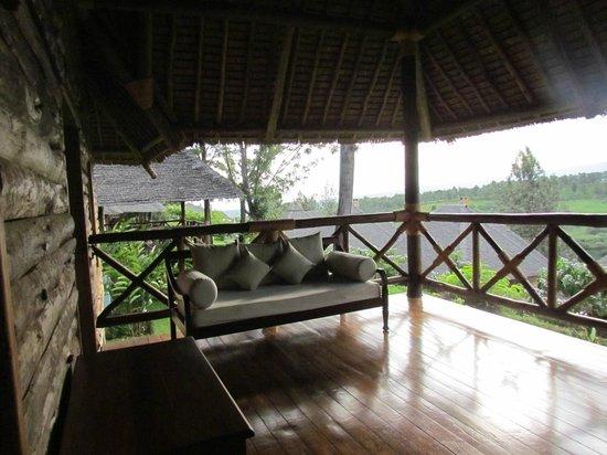 Neptune Ngorongoro Luxury Lodge : Patio view