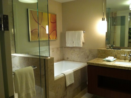 Every Mom Deserves This Bathroom Complete With Tv In The Mirror Picture Of Four Seasons Hotel