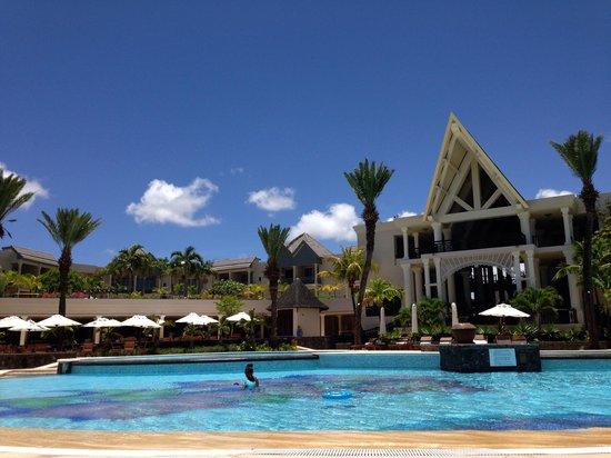 The Residence Mauritius : La piscine