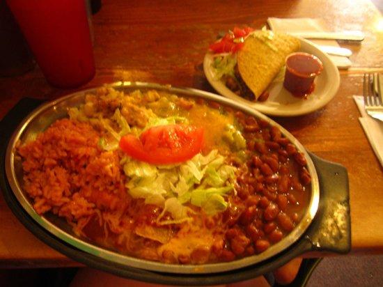 TIA Sophia's: A large plate full of goodness
