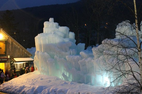 Loon Mountain: Ice Castle at Loon Mt.
