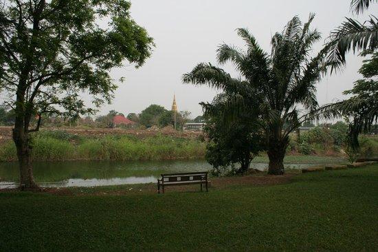 Baan Tye Wang Hotel : jardin
