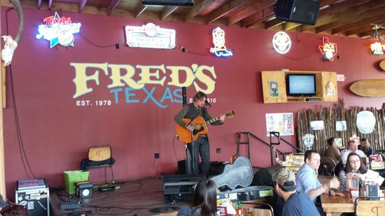 Fred's Cafe: Live music