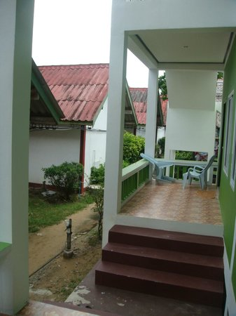Blue Andaman Lanta Resort: from of the newer rooms