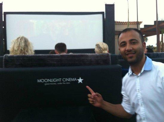 Moonlight Cinema: thumbs up!