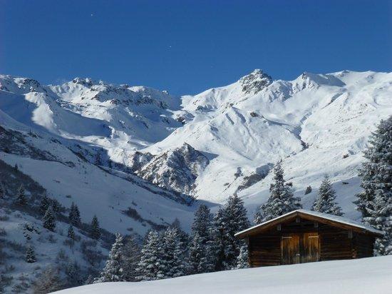 Hotel Alpin Spa Tuxerhof: Tolle Landschaft!