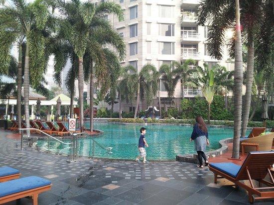 Conrad Bangkok Hotel : プール