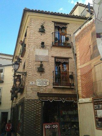 Hostal Casa de Cisneros: Preciosa fachada
