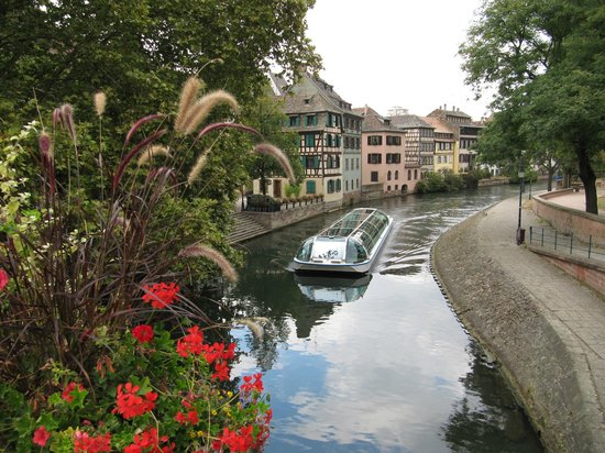 La Petite France : старый район