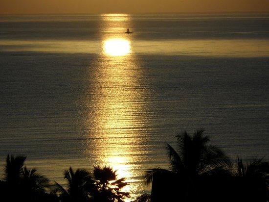 Royal Decameron Beach Resort, Golf & Casino : Sonnenaufgang ca. 7:00 Uhr