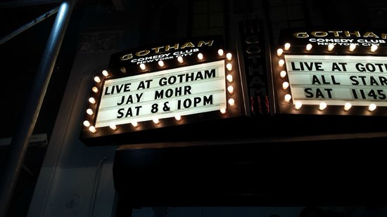 Gotham Comedy Club: The BEST Comedy Club in the world