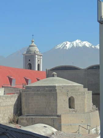 Los Tambos : View from the Rooftop Terrace