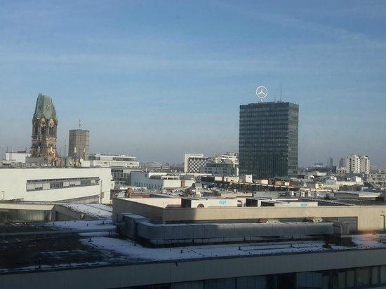 Sofitel Berlin Kurfürstendamm: вид из окна