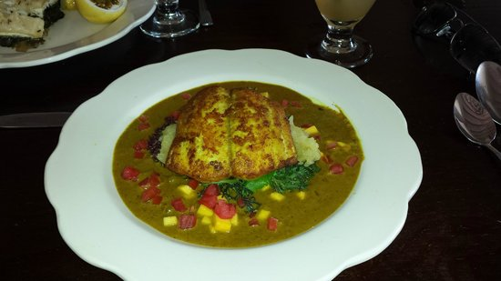 Sugar Reef Cafe : Curried King fish