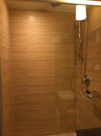 Empire Hotel : No shower door