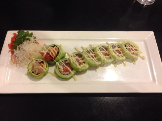 Edo Sushi: Cucumber on My Mind Roll.